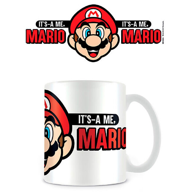 Taza Its A Me Mario Super Mario Nintendo