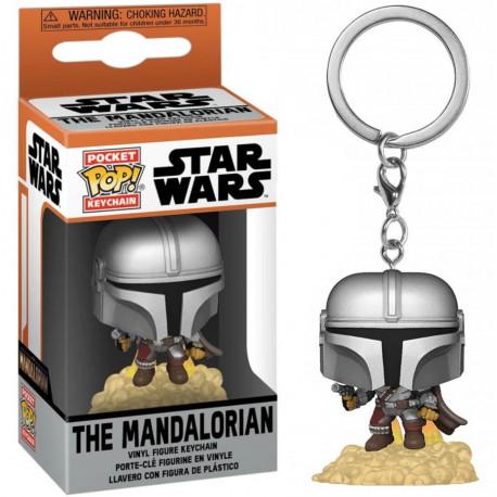 Llavero Pocket POP Star Wars The Mandalorian - The Mandalorian
