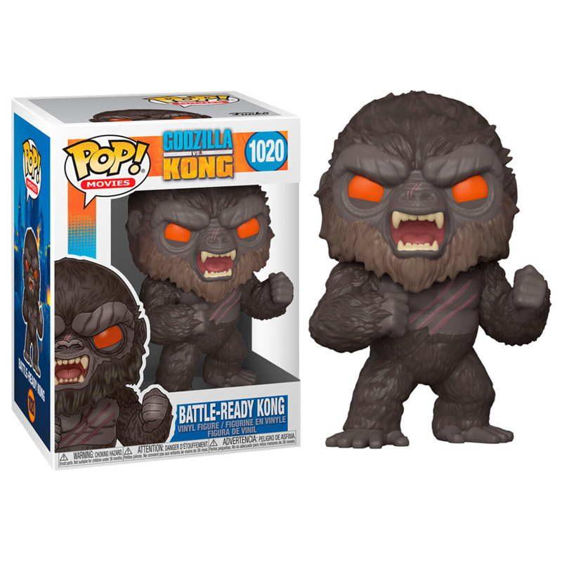 Figura POP Godzilla Vs Kong Battle Ready Kong