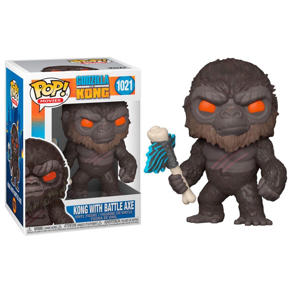 Figura POP Godzilla Vs Kong - Kong with Axe