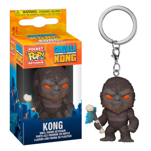 Llavero Pocket POP Godzilla Vs Kong - Kong with Axe