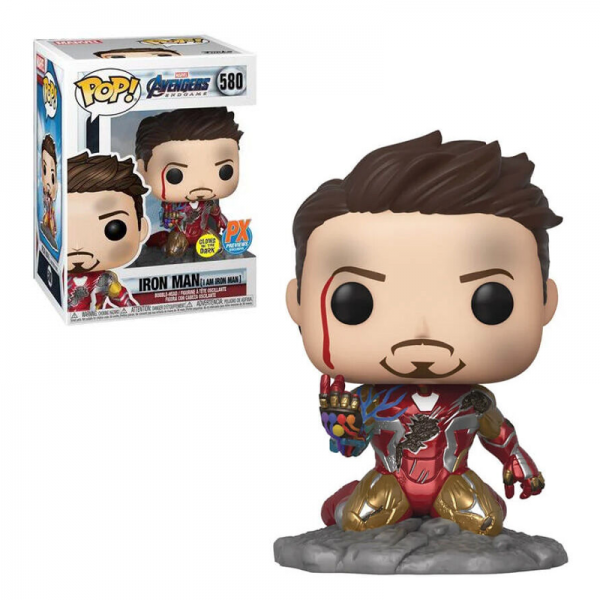 Figura POP Marvel Vengadores Endgame I Am Iron Man Exclusive