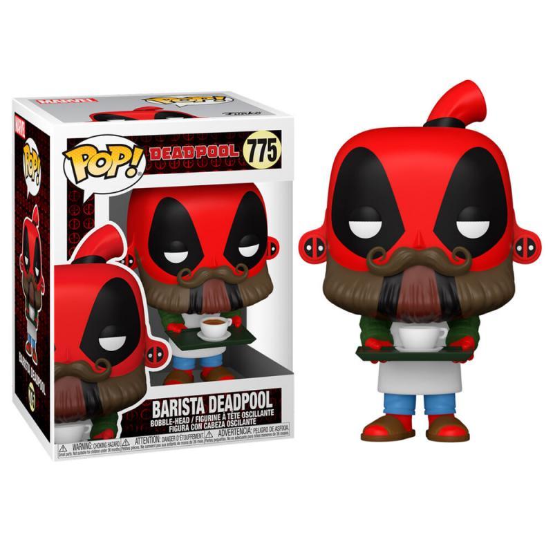 Figura POP Marvel Deadpool 30th Coffee Barista