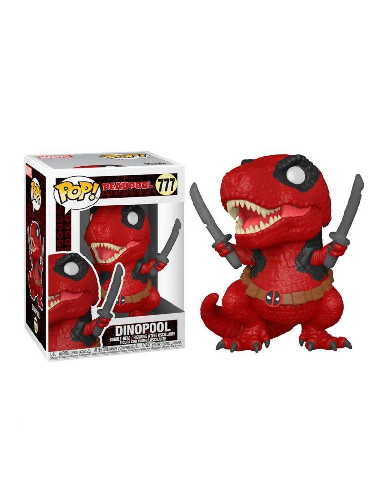 Figura POP Marvel Deadpool 30th Dinopool