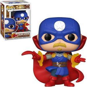 Figura POP Marvel Infinity Warps Soldier Supreme