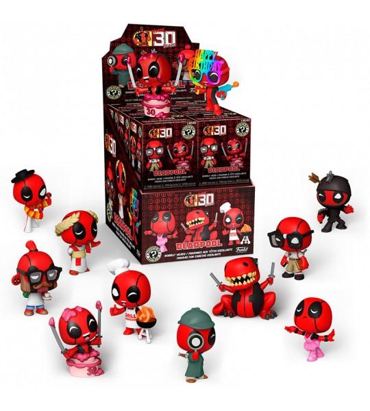 Figura Mystery Minis Marvel Deadpool 30th
