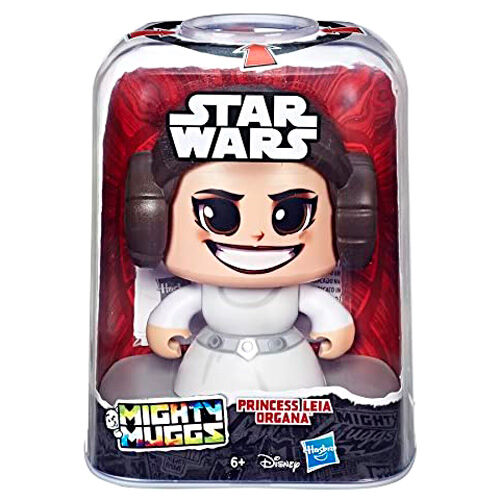 Figura Mighty Muggs Leia Star Wars 14cm