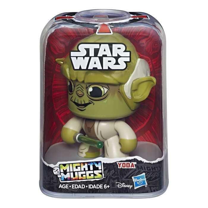 Figura Mighty Muggs Yoda Star Wars 14cm