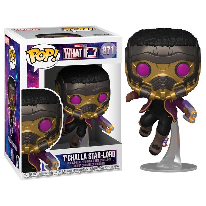 Figura POP Marvel What If T'Challa Star-Lord
